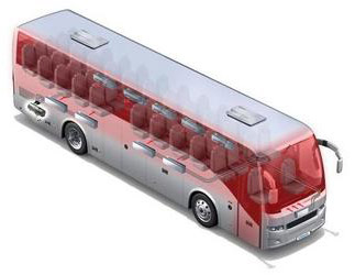 Автономные отопители для автобусов