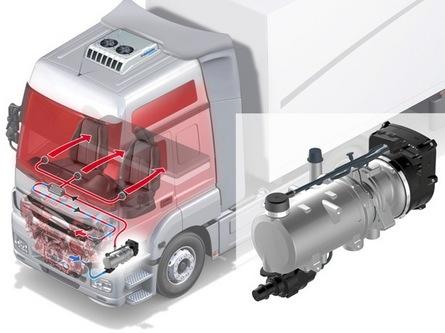 Предпусковой подогреватель двигателя Webasto Thermo 90 ST